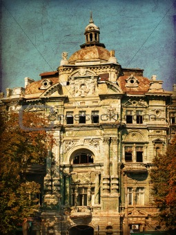 Old building, Odessa, Ukraine