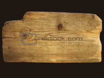 Title: Old board