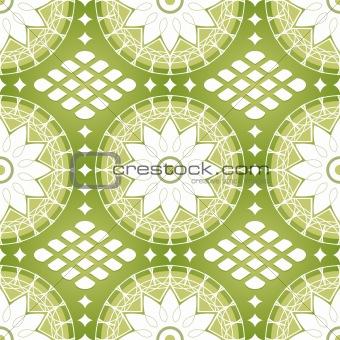 Seamless russian lacing
