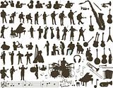 Music vector