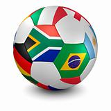 soccer ball - clipping path