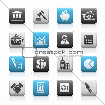 Business & Finance // Matte Icons Series