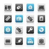 Computer & Devices // Matte Icons Series
