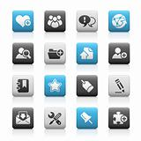 Internet & Blog // Matte Icons Series