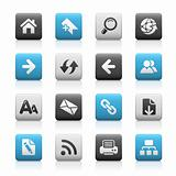 Web Navigation // Matte Icons Series