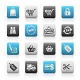 Shopping // Matte Icons Series