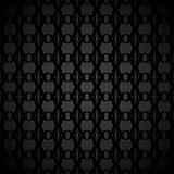 floral link wallpaper black