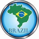 Brazil Round Button