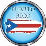 Puerto Rico Round Button
