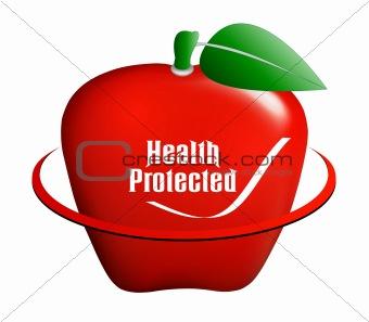 Apple medical icon