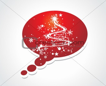 call out christmas tree