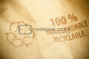 100% recyclable and biodegradable