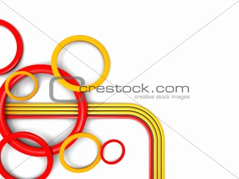 abstract 3d ornament