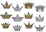 Heraldic crowns