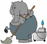 Elephant Mopper