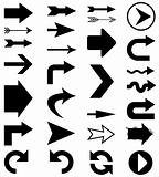 Arrow shapes