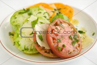 Sliced Heirloom Tomato Salad