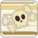 Skull & Crossbones Illustration