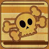 Skull & Crossbones Illustration