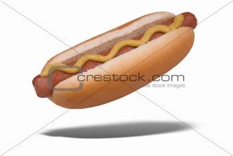 Floating hot dog
