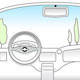 car interior(VECTOR)