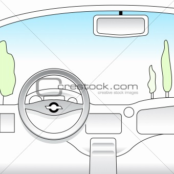 car interior(VECTOR)