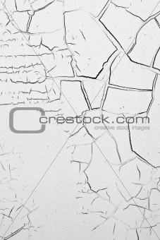 background cracked white
