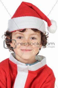 Adorable small santa