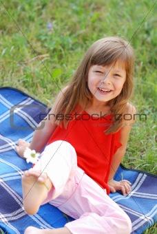 Little cute girl