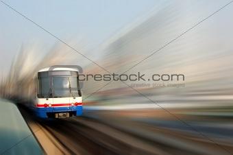 Skytrain blur