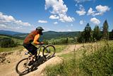 MTB downhill competition