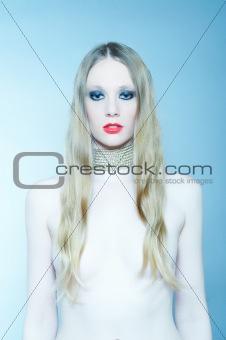 Art fashion nude photo of a woman.