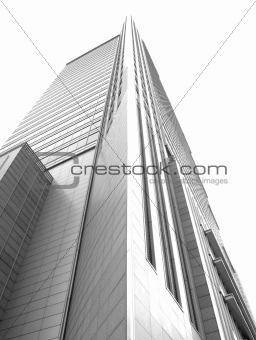 Skyscraper in Warsaw, Poland.