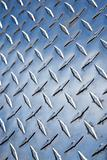 Close-up of diamond plate metal texture.