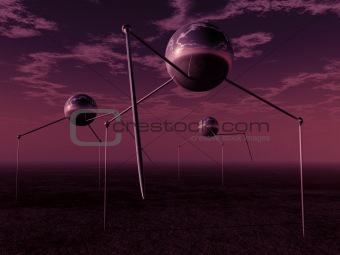 Alien Ball Tripods 1