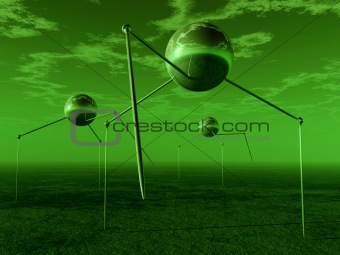 Alien Ball Tripods 4