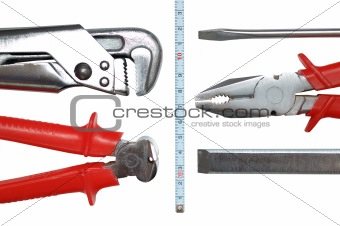 Toolkit isolated on white