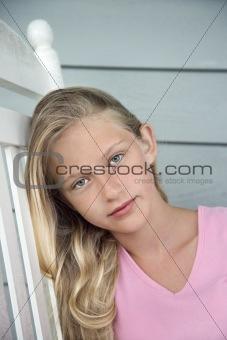 Portrait of girl.