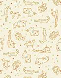 Baby Safari Pattern (seamless)