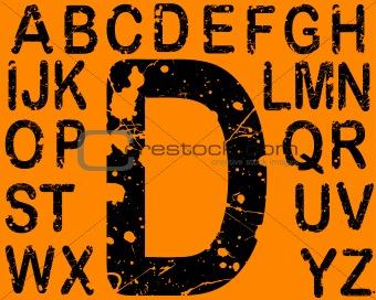Acid Letters A-Z