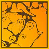 abstratct orange background