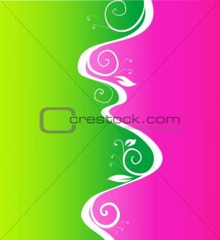 color flower pattern