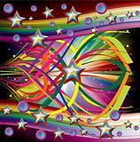 Rainbow Music Background