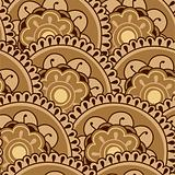 Sepia Floral Pattern
