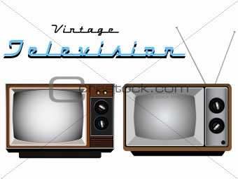 Antique Television Sets