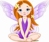 Little cute  fairy