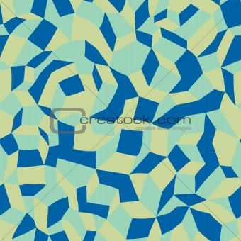 Abstract Pattern Blue