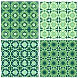 Islamic Seamless Pattern Green