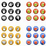 Hand Gesture Buttons