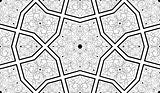 Ornate Seamless Pattern B&W